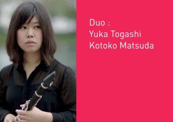 Duo : Yuka Togashi et Kotoko Matsuda